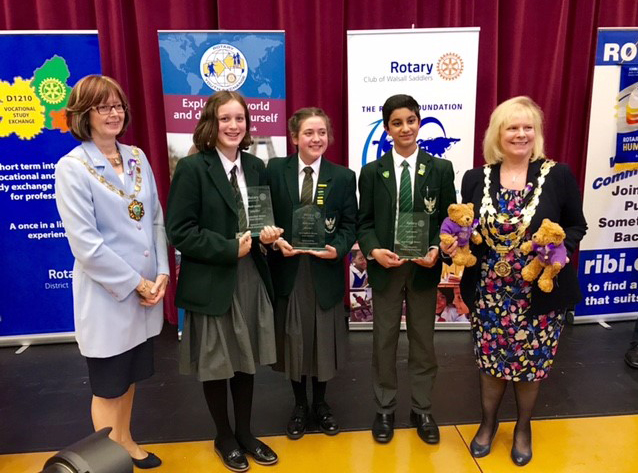 "St Aloysius' College: National Champions (Intermediate level) in RIBI's ""Youth Speaks!"" 2017 competition"
