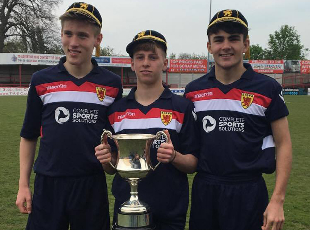Three Aloysians play for Scotland in an Historic Victory