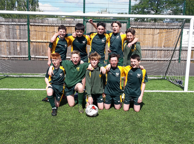 S1 Boys Progress to National Football Finals